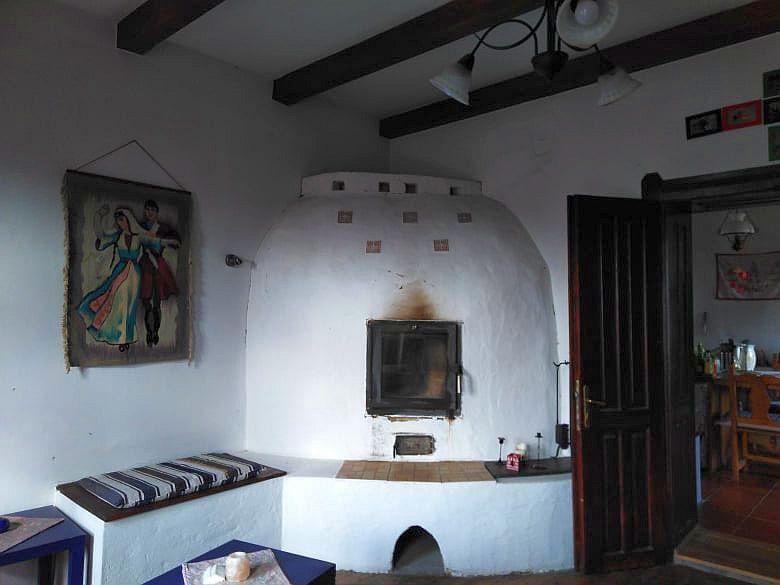 stucco stove